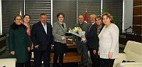 CHP Körfez İlçe Yönetiminden KTO'ya ziyaret
