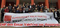 CHP'den Ensar Vakfı hakkında suç duyurusu!