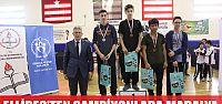 Ellibeş'ten şampiyonlara madalya