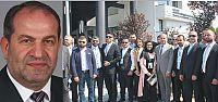 Emlakçılarda Başkan Ahmet Pekin