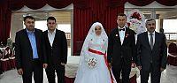 Esra İle İsmail'in Nikahlarını Başkan Baran Kıydı