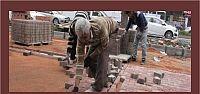 Gölcük Merkez Kapalı çarşı önünde düzenleme çalışmaları