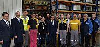 Güzeloğlu'ndan Pirelli fabrikasına ziyaret