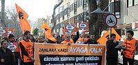 Halkevleri Zamlar Protesto Etti