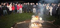 İzciler Diriliş mahalli kış kampında