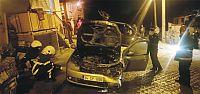 İZGAZ'a ait araç yandı