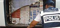 İzmit'te kaçak sigara operasyonu
