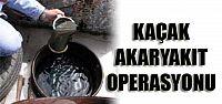 Kaçak akaryakıt operasyonu; 20 kişi gözaltına alındı
