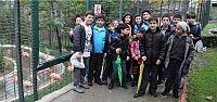 Kağıtsporlu sporcular Hayvanat Bahçesini Gezdi