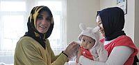 Kandıra Belediyesi'den yeni bebek sahibi ailelere ziyaret