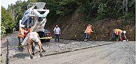 Karamürsel'de beton yol çalışması