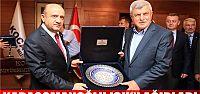 Karaosmanoğlu, Bakan Işık'ı ağırladı