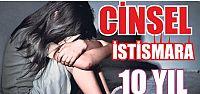 Kartepe'deli cinsel istismara 10 yıl