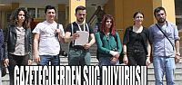 Kocaeli'de gazetecilerden polise suç duyurusu