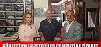 Körfez Belediyesinden gazeteciler cemiyetine ziyaret