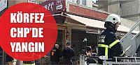 Körfez CHP'de yangın paniği