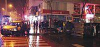 Körfez Güney Mahallesi market aracı takla attı
