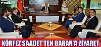 Körfez SP Baran'ı ziyaret etti