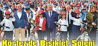 Körfez'de Bisiklet Şöleni...