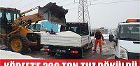 Körfez'e 200 ton tuz