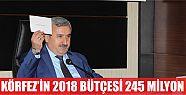 Körfez'in 2018 bütçesi 245 MİLYON