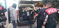 Latin Amerikalı 4 gaspçı yakalandı