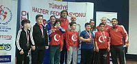 Minik Herkül Türkiye İkincisi Oldu