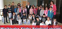 Minik Öğrencilerden Körfez Belediyesi'ne Ziyaret