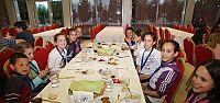 Misafir ülke grup liderleri yemekte buluştu