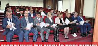 Moralı'nın ilk meclis toplantısı