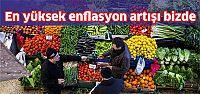 OECD'de en yüksek enflasyon artışı Türkiye'de