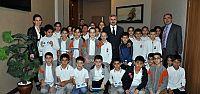 Öğrenciler Başkan Baran ile Yerel Yönetimleri konuştu