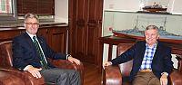 Osman Pepe  Başkan Ellibeş'i Makamında Ziyaret Etti