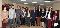 Özak, Makedonya Üniversitesi'nden konukları ağırladı