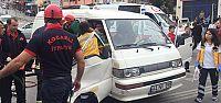 Santral Kavşağı'nda zincirleme kaza