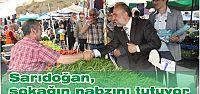 Sarıdoğan, sokağın nabzını tutuyor