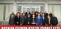 Şemsettin Ceyhan KTO'yu Ziyaret Etti