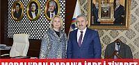 Sibel Moralı'dan Başkan Baran'a iade-i ziyaret