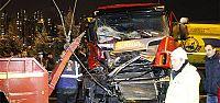 TEM'de 11 araçlı zincirleme kaza