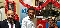 Türker Paşa, Kocaeli Türk Ocağı'na konuk oldu