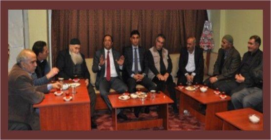 Toltar ve Akbulut, Kahriman ailesini ziyaret etti