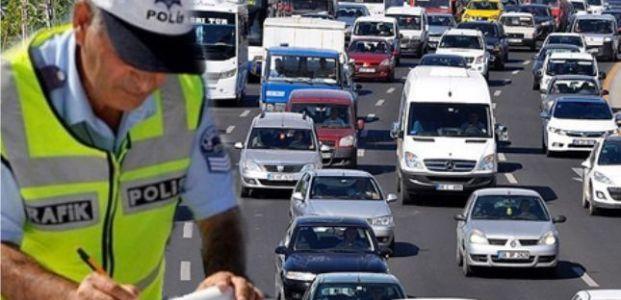 Trafik cezaları siliniyor
