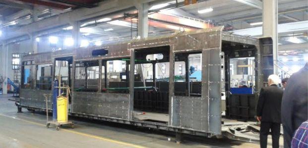 Tramvay araçlarının üretimine başlanacak