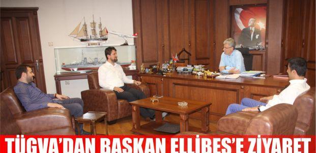 TÜGVA'dan Ellibeş'e ziyaret