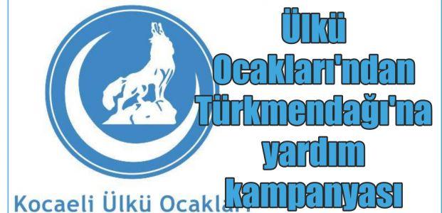 Ülkü Ocakları'ndan Türkmendağı'na yardım kampanyası