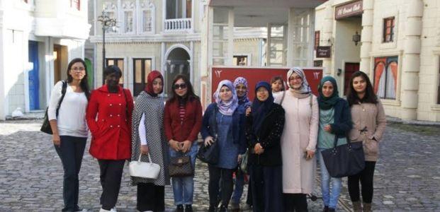 Uluslararası öğrenciler Gez-Gör ile Kocaeli'yi tanıdı