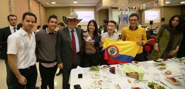 Uluslararası öğrenciler, ''Hoşgeldiniz'' programında buluştu
