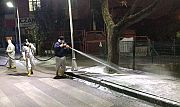 Körfez'de, Cadde ve sokaklar her gün yıkanıyor