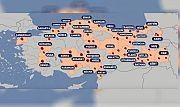 42 şehir karantinaya alındı