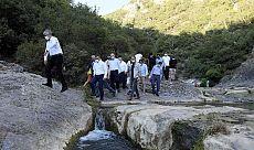 Başkan Büyükakın'dan Ballıkayalar Tabiat Parkı'na özel ilgi